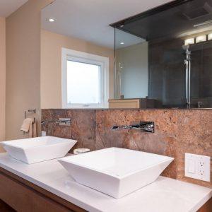 Double Bathroom Sink Photo